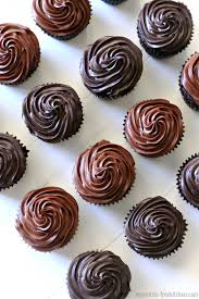 Gluten Free Chocolate Cupcakes With Fudge Frosting