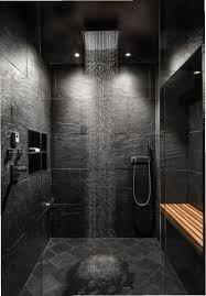badezimmer deckenbeleuchtung duschkabine schieferboden