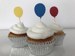 Balloon Cupcake Topper Cake