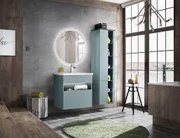 badmöbel set 3 tlg badezimmerset varese mint inkl waschtisch 60cm
