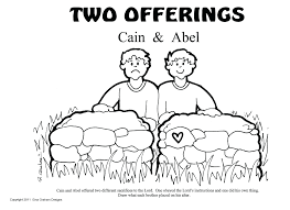 Free Bible Coloring Pages Cain And Abel Adam Eve Full Size