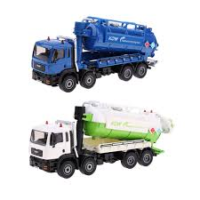 100 Diecast Garbage Trucks 150 Alloy Waste Truck Wastewater Recycling