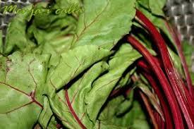 comment cuisiner les feuilles de betterave feuilles de betterave à la crème et chèvre menja i calla