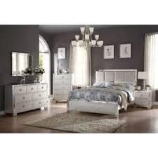 serendipity bedroom bed dresser mirror king chagne