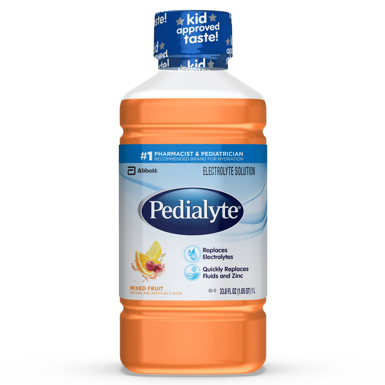 Abbott Pedialyte Electrolyte Solution - 1.1qt, Mixed Fruit