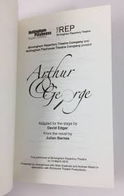 Arthur & George   Adapted By David Edgar (Nick Hern Books, 2010 ... Amazoncom Arthur And George Season 1 Stuart Orme Julian Barnes Wkar Bibliography Michael Prodger On The Man Booker Prize The Amazoncouk 9780099492733 Books Buchtipp Von Rachel Seiffert Fiction Of Vanessa Guignery Palgrave Higher Paperback Shoppbsorg At Nys Writers Instiute In 2006 Youtube By Jonathan Cape Hardcover 1st