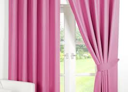 Pink Ruffled Window Curtains by Light Pink Curtains Pink And Black Curtains Pink And Black