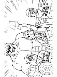 Lego Marvel Coloring Pages For Boys 11