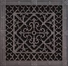 decorative return air filter grille 14x14 arts and crafts style