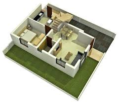 3d Small House Plans Simple Design On Ideas In Creative Home