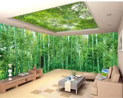 beibehang custom tapete riesige panorama natürliche landschaft bambus landschaft malerei wohnzimmer tv wand dekoration