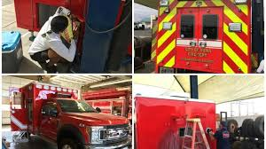 100 Truck Masters Az Yuma Fire Department Saves Money By Building Own Ambulance With