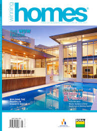 Boral Roof Tiles Canberra by Winning Homes 2012 Magazine By Master Builders Association Of The