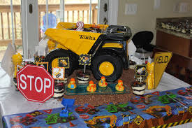 100 Tonka Truck Birthday Party The Kings Gratitude Day 12 Ryans 2nd Construction Themed