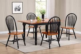Amazon.com - Sunset Trading 5 Piece Butterfly Leaf Dining Table Set ...