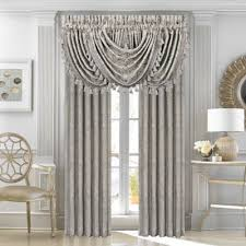 J Queen New York Marquis Curtains by Buy Waterfall Valance From Bed Bath U0026 Beyond