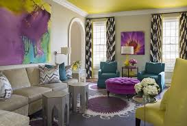 Grey And Purple Living Room Curtains by Great Black White And Purple Curtains Ideas With Grey And Purple