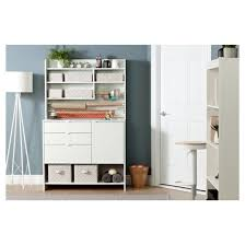 White Storage Cabinets With Drawers by Crea Craft Storage Cabinet With Drawers Pure White South Shore