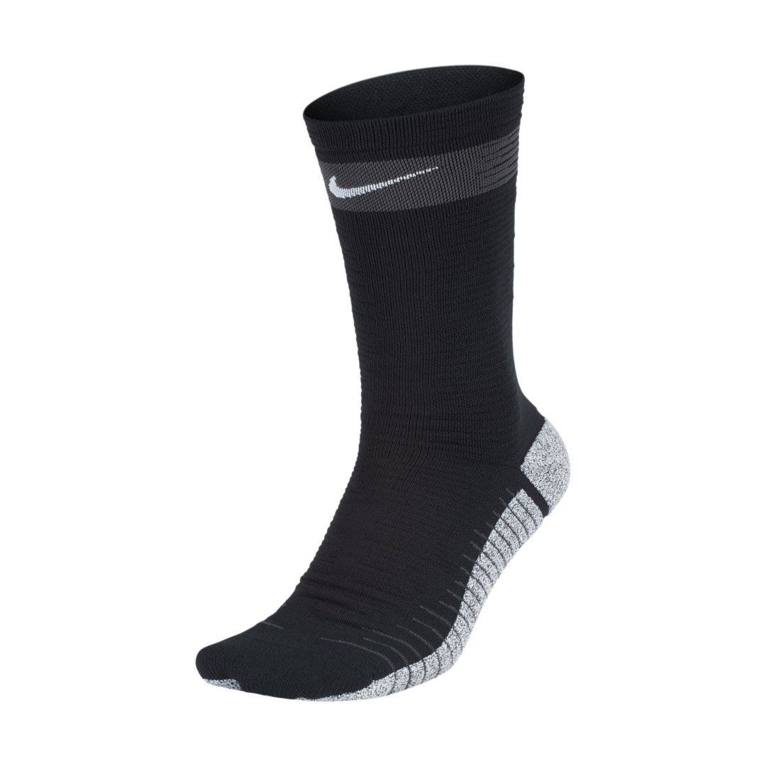 Nike Strike Light Crew Socks Black Grey