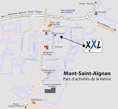 bureau de poste mont aignan formation accès hébergement restauration rouen normandie