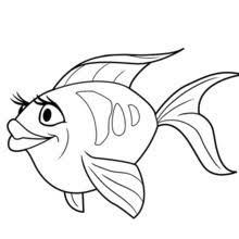 FISH Of OCEANA LOVELY Printable Barbie