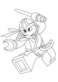 Zane Ninjago Coloring Pages For Kids Printable Free