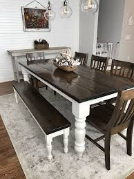 Colored Dining Room In Rear Refrence 16 Farmhouse Table Ideas For Cozy Rustic Look