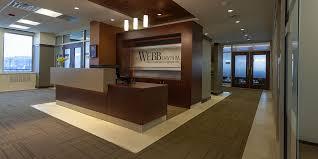 Webb Law Office Reception Area