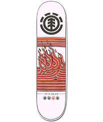 element nyjah huston linear 8 125 skateboard deck zumiez