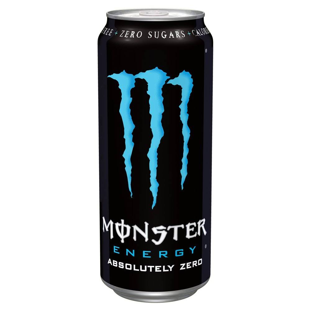 Monster Energy Drink - Absolutely Zero, 500ml