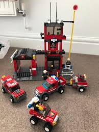 MUST SELL BY 13 AUG Lego City 7240 Fire Station, 7241 Fire Chief Car ... Bricktoyco Custom Classic Style Lego Fire Station Modularwith 3 Ideas Product Ideas Truck Tiller Lego City Pumper Truck Made From Chassis Of 60107 Light Sound Ladder Cute Wallpapers Amazoncom City 60002 Toys Games Juniors Emergency Walmartcom Fire Truck Youtube Big W City 4208