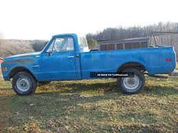 1972 Chevy C20 4x4 350 4 Speed