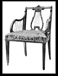 Lyre Back Chairs Antique by Lyre Back Chair History Of Furniture Pinterest Furniture