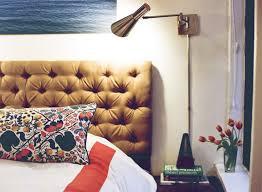 Cheap Upholstered Headboard Diy by Diy Tufted Headboard Green Notebook