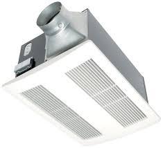 Panasonic Ceiling Fan 56 Inch by Panasonic Fv 11vh2 White Whisperwarm 110 Cfm 0 6 Sone Ceiling