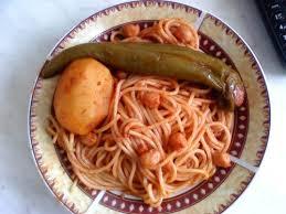pate a la tunisienne makarouna salsa ou pâtes en sauce tunisienne lesgourmets dici et