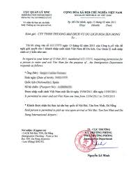 Visado Para Vietnam Vietnamitas En Madrid