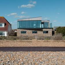 100 Gabion House Leather Sectionals For Sale Shoreham Beach By ABIR Architects