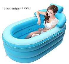 Portable Bathtub For Adults Online India by Amazon Com Spa Inflatable Bath Tub Home Improvement