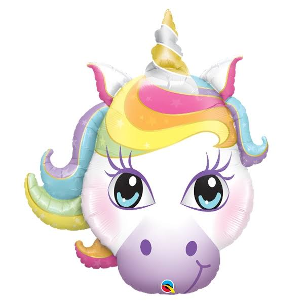 Qualatex 38 inch Supershape Foil Balloon - Magical Unicorn