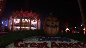 Californias Great America Halloween Haunt by California U0027s Great America Closing Ceremonies With Witch For