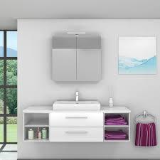 badmöbel set city 303 v1 hochglanz weiß badezimmermöbel