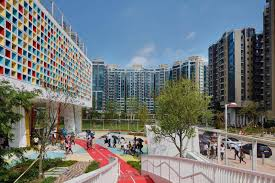100 Hong Kong Condominium Henning Larsen Builds A Colorfully Sustainable School In