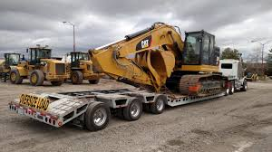 Excavator Transportation Services | Heavy Haulers | (800) 908-6206