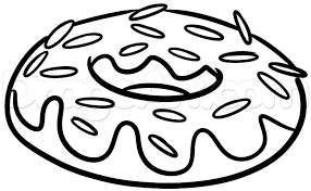 drawing a donut easy step by step step 4