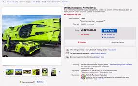 Lamborghini Aventador SV Roadster & MTI Super Veloce | Lambo Combo ... Ebay Motors Collector Car Scams On Vimeo Gas Monkey Garage Pikes Peak Chevy Roars Onto Us 8000 Used In Cars Trucks Ford Teen Pontiac Febird Black Bird And Motor Car Listing Faq List Of Synonyms Antonyms The Word Ebay Cars 1957 Attractive Ebay And Frieze Classic Post War Tootsietoy Diecast Toy Vehicsscale Models Trend Synthetic Leather Low Back Seat Covers For Carsuv Full Third Coast Rc