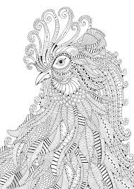 Difficult Adult Coloring Pages Animals