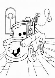 Disney Cars Coloring Pages Free For Kids