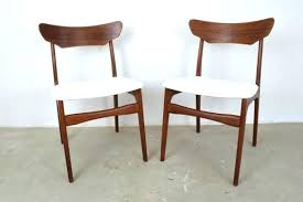 Danish Teak Dining Chairs By For Set Of Furniture 2 Modern