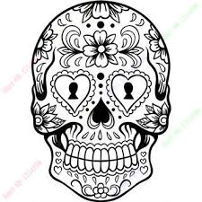 Sugar Skull Pumpkin Carving Patterns by Shop Sugar Skull Wall Decor On Wanelo